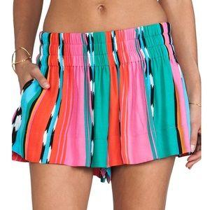 Ella Moss Surfer Stripe Floaty Shorts with Pockets